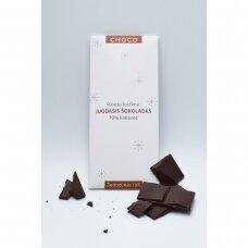 Juodasis šokoladas su žiedadulkėmis, 80g