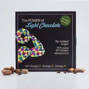 Dark chocolate with hemp, no sugar, 60g