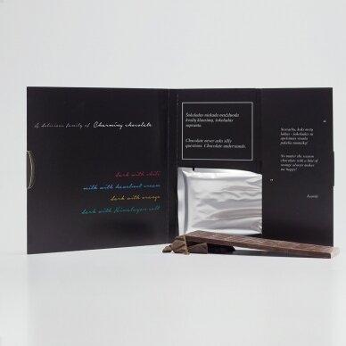 Juodasis šokoladas su čili pipirais, 60g 2