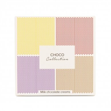 Pieniško šokolado kremų kolekcija, 320g