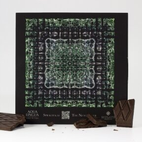"""""""THE NUTCRACKER"""" Dark chocolate with lime and mint, 60g"""